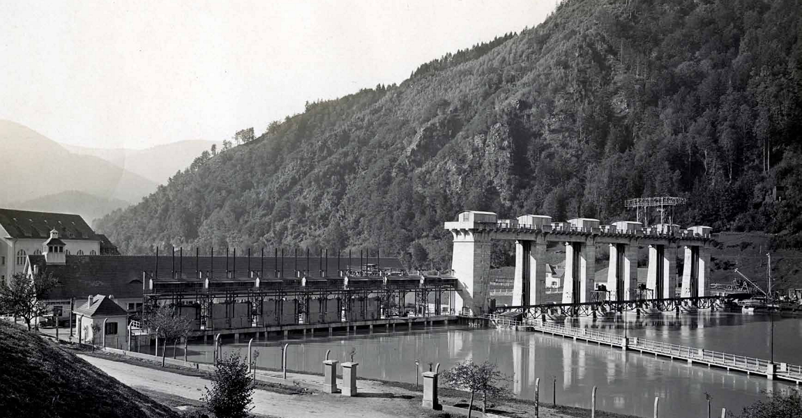 The oldest Hydro Power Plant on slovenian part of Drava river - Fala